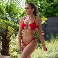 réseaux snapchat instagram facebook youtube de Justine Gallice Fitness girl France,